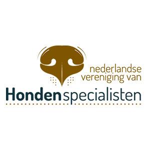 Logo Nederlandse Vereniging van Hondenspecialisten
